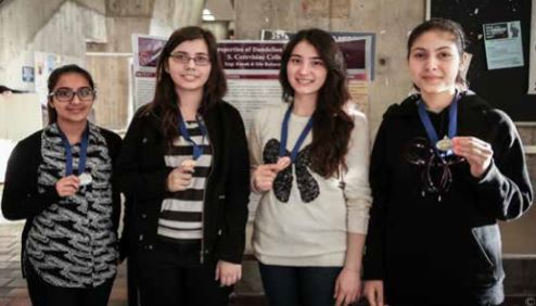 Nile Academy Excels at the Toronto Science Fair